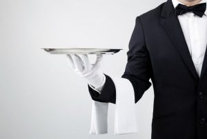 Waiter Certificate - Personal Skills Accreditation